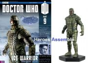 Doctor Who Figurine Collection #009 Ice Warrior Eaglemoss